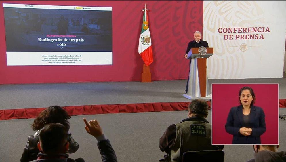 """""""México ya no es tierra de conquista"""", AMLO a El País"""