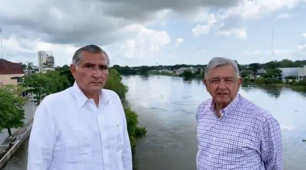 Inundaciones en Tabasco provocan 5 muertos: AMLO