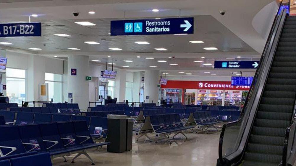 Aeropuerto de Cancún programó 295 operaciones