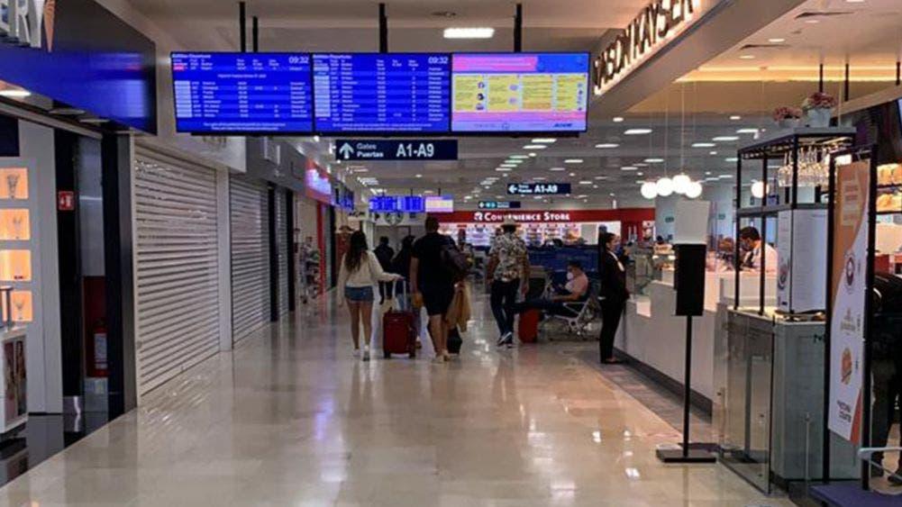 Aeropuerto de Cancun inicia la semana con 317 operaciones