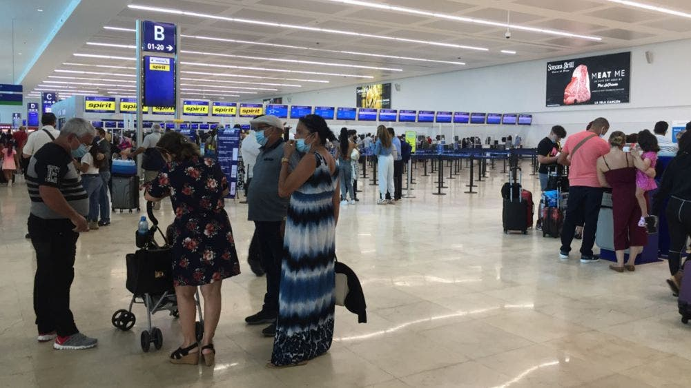 Descienden las operaciones en el Aeropuerto de Cancún