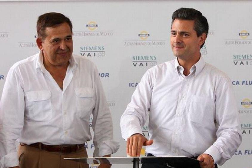 """Aconseja Alonso Ancira a Peña Nieto """"que corra"""""""