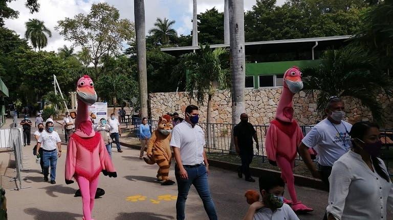 Parque Centenario de Mérida reabre sus puertas este viernes