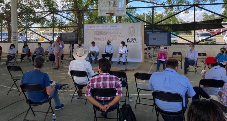 Dialogan con pueblos indígenas de la Península sobre el Tren Maya.