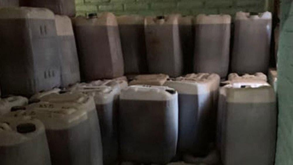 Decomisa la FGR más de tres toneladas de clorhidrato de metanfetamina