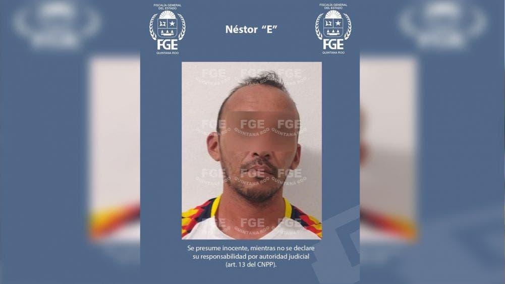 """FGE de Q. Roo Detiene al presunto violador de menores Néstor """"E"""""""