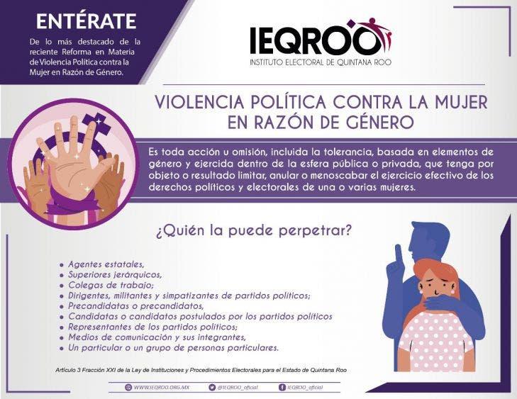 Sancionan a funcionario de Isla Mujeres por violencia política de género.