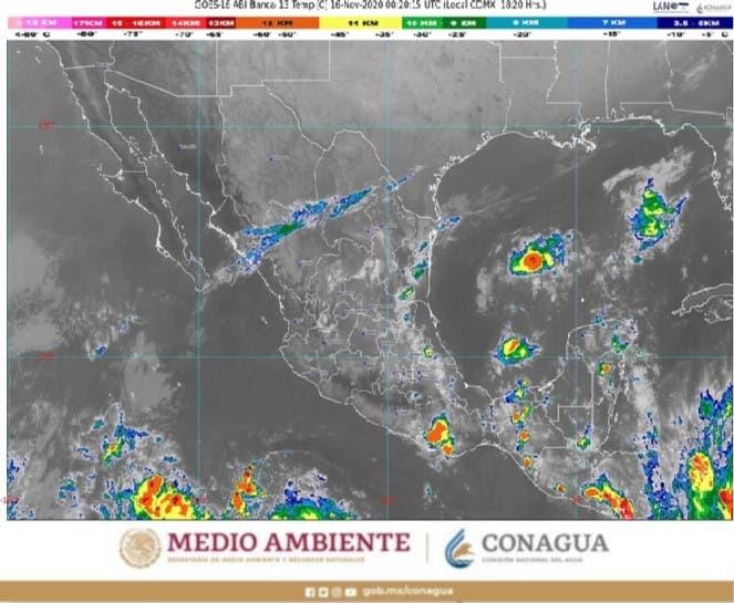 Clima: Condiciones meteorológicas para hoy lunes 16 en Quintana Roo; pocas probabilidades de lluvias para la Península.