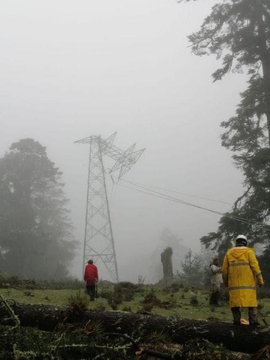 Los daños alcanzados por los meteoros fueron de magnitud considerable.