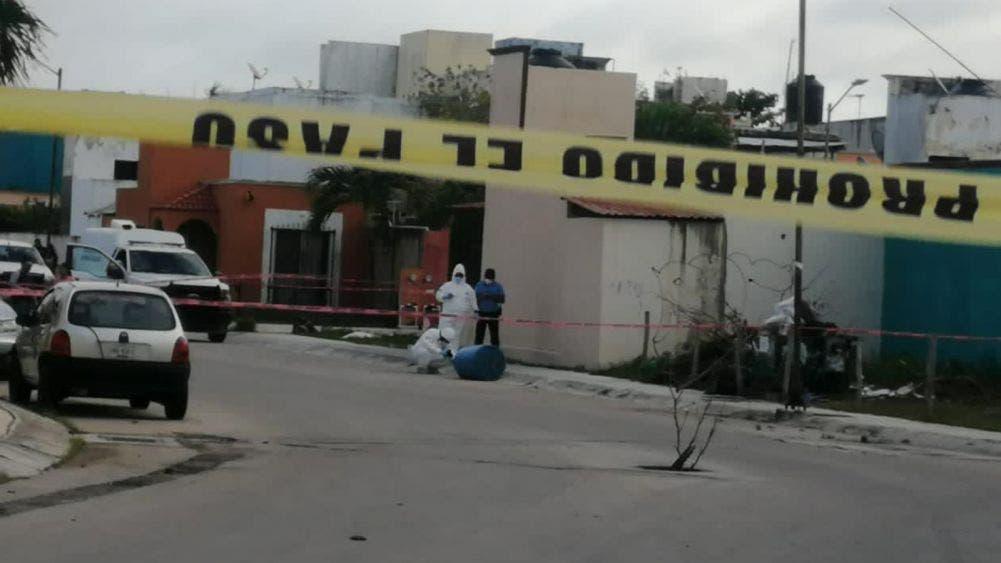 Encuentran restos humanos embolsados en Playa Del Carmen
