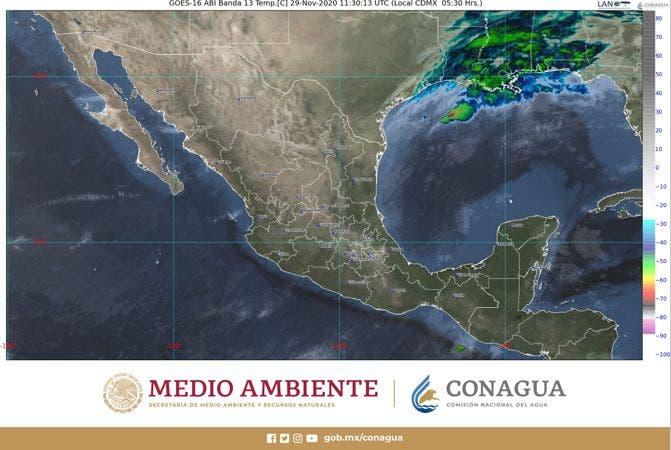 Pronóstico del clima para hoy domingo 29 en Quintana Roo; se prevén por la tarde chubascos aislados en la Península de Yucatán.