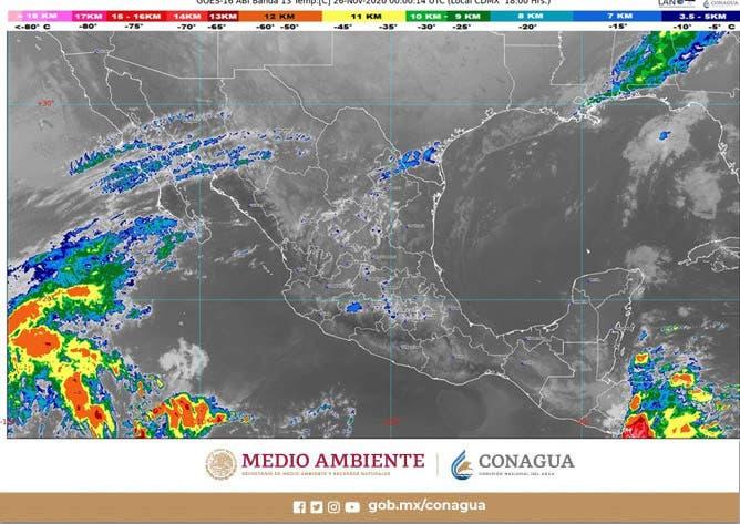Pronóstico del clima para hoy jueves en Quintana Roo; se mantendrán temperaturas calurosas y pocas posibilidades de lluvias.