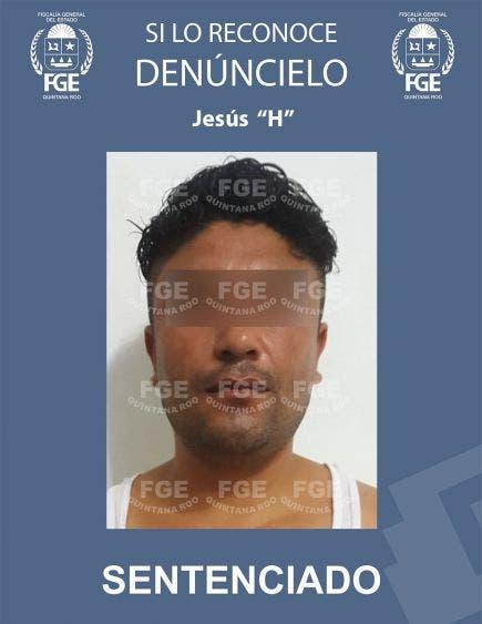 """En Cancún condenan a un violador a 37 años de cárcel; Jesús """"H"""" cometió el ilícito en mayo de 2019 en una casa de la Región 235."""