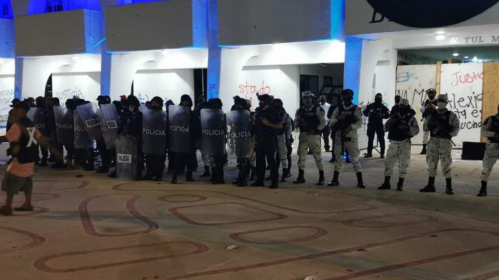 Condena IFEDH represión policial contra estudiante en Cancún