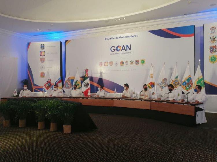 Elige Asociación de Gobernadores del PAN a Carlos Joaquín como presidente