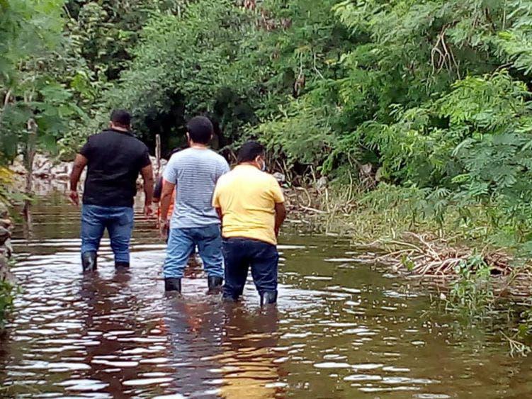 Lluvias dejan inundaciones hasta la cintura en Motul