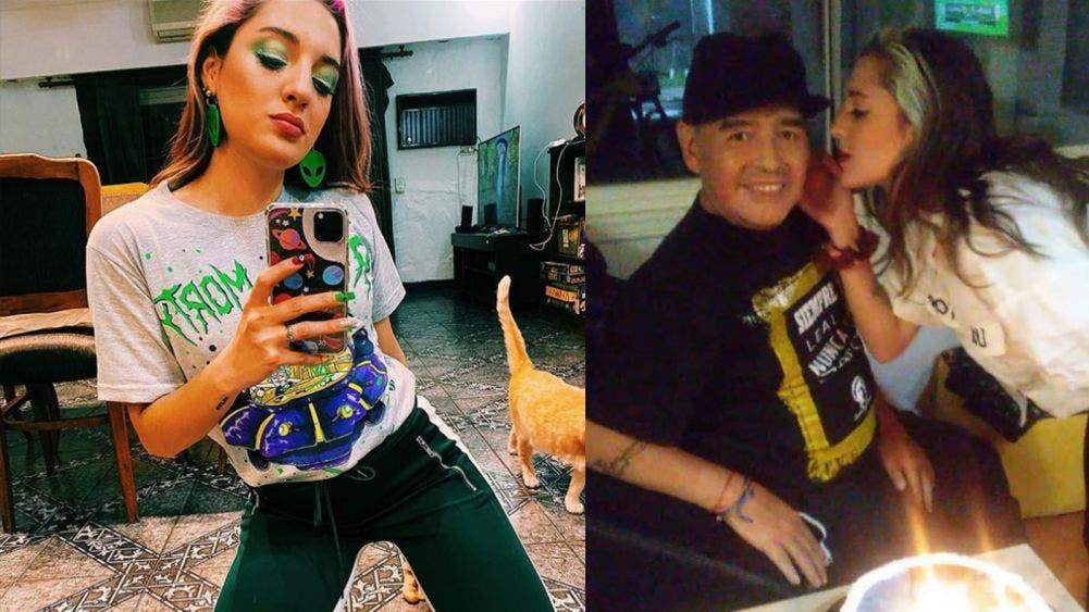 Jana, la hija de Diego Maradona ¿A qué se dedica?
