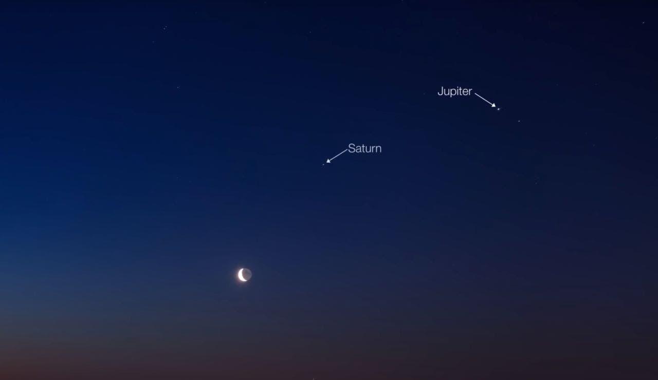 En Yucatán se podrá observar la conjunción del planeta Júpiter con Saturno