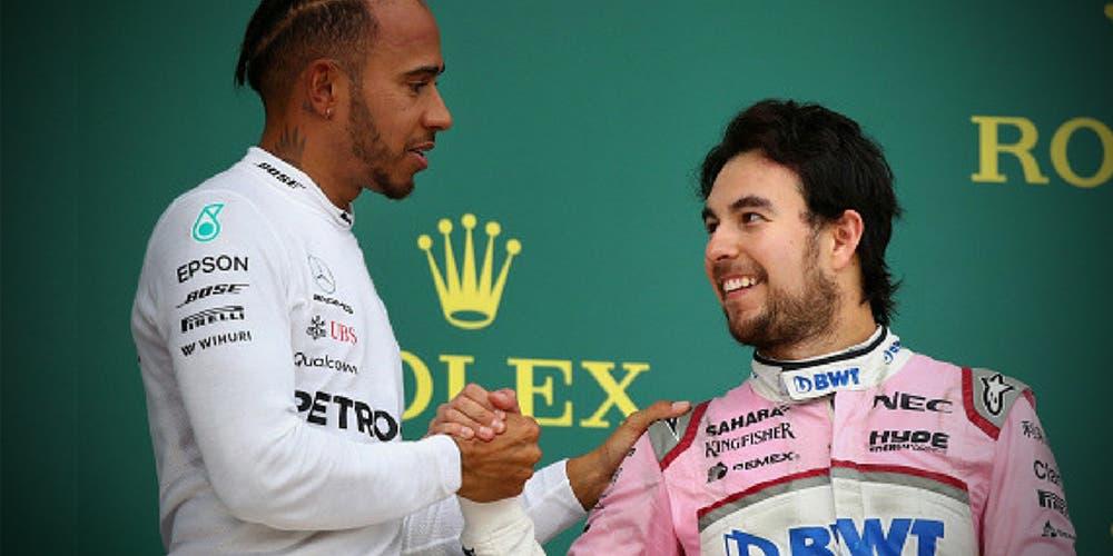 Checo Pérez y Hamilton son otro nivel en la F1