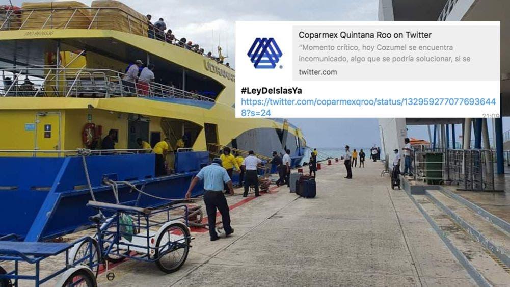"Promuev Coparmex Quintana Roo ""Ley de Islas"""