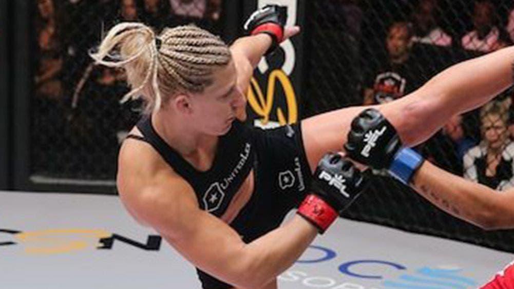 Sangriento nocaut en MMA femenil, Kayla Harrison destrozó el rostro de su rival