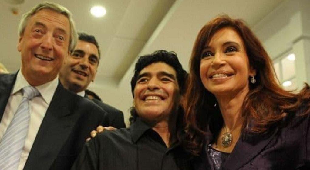 """Clase política despide a Maradona, """"El Pibe de Oro"""""""