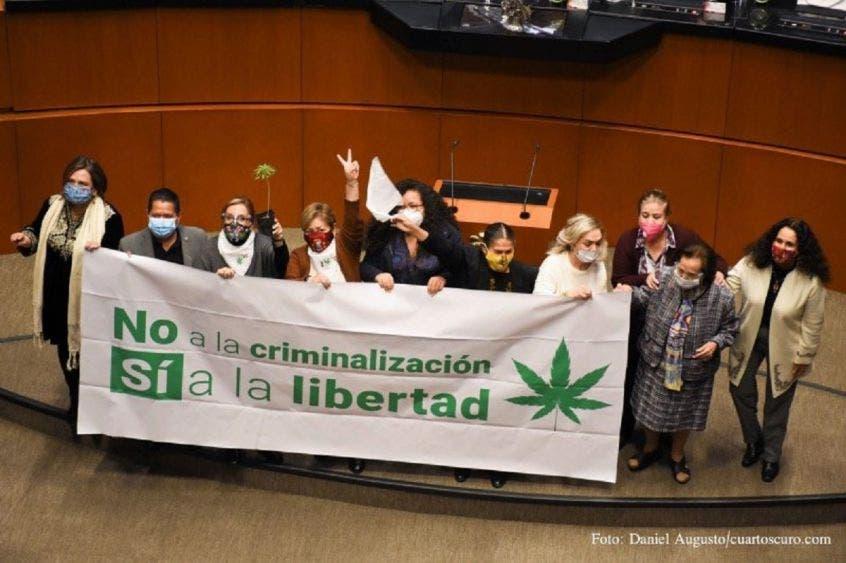 Aval histórico al uso de mariguana; vota casi todo el PAN en contra