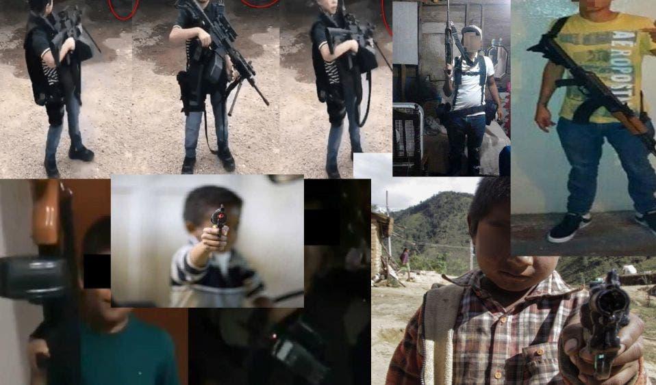 Cifra del terror: al menos 45 mil niños trabajan para cárteles