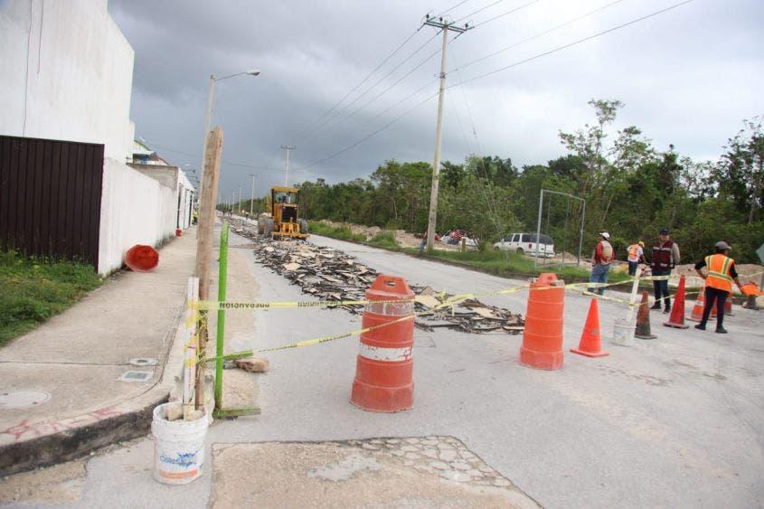 Como parte de las obras complementarias del Tren Maya, la vialidad se convertirá en un moderno bulevar, indica la alcaldesa
