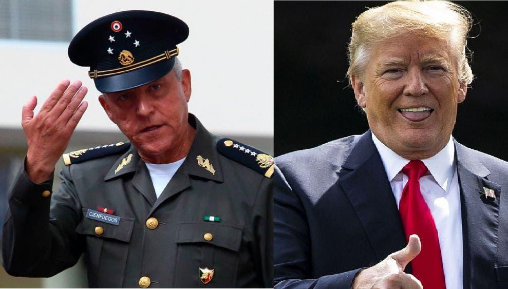 """Ven """"mano negra"""" de Trump en liberación del """"Padrino"""" Cienfuegos"""