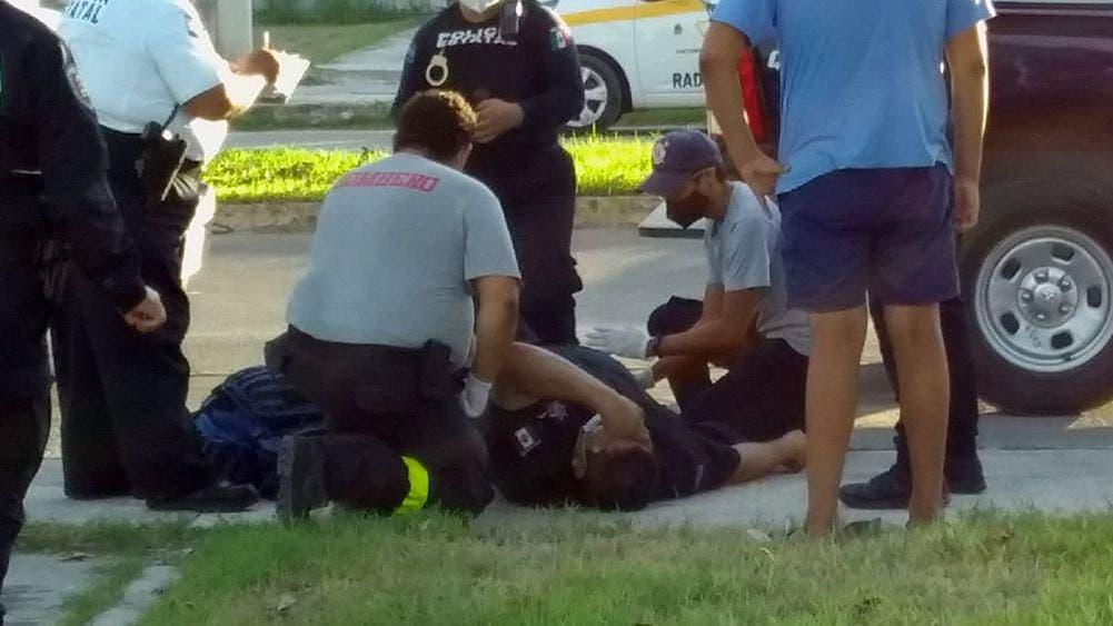 Persecución de asaltantes deja un detenido y un policía lesionado