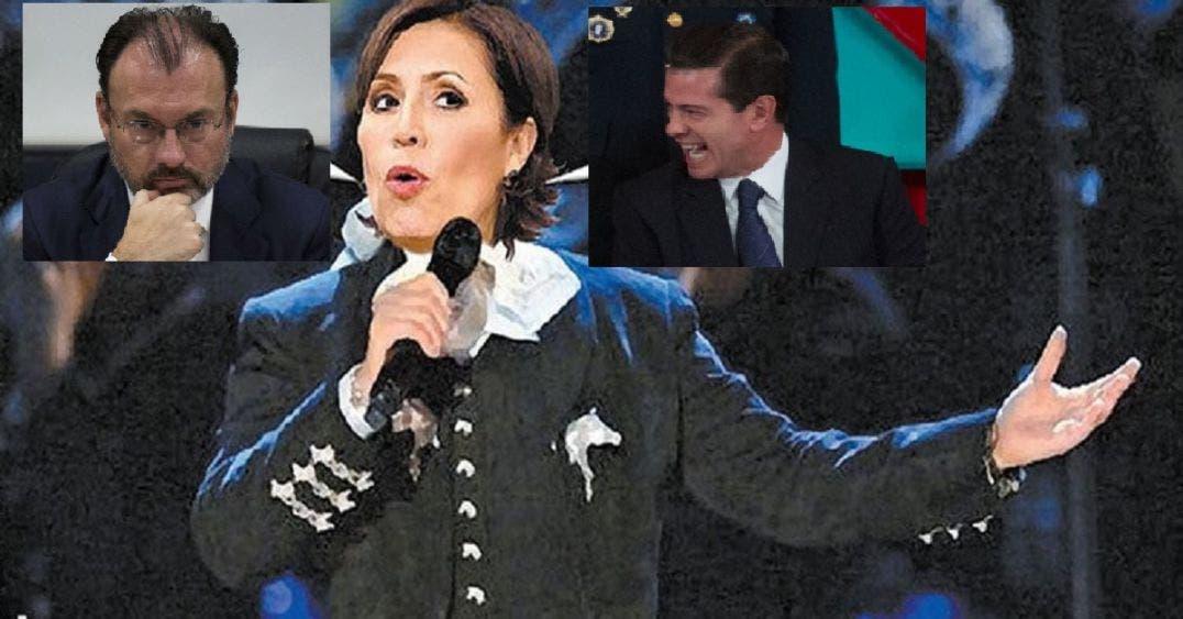 """Comienza a """"cantar"""" Rosario, salva a Peña, hunde a Videgaray"""