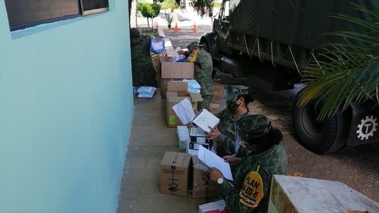 Yucatán: Para atender más casos de Covid, abastecen hospitales pertenecientes a la X Región Militar