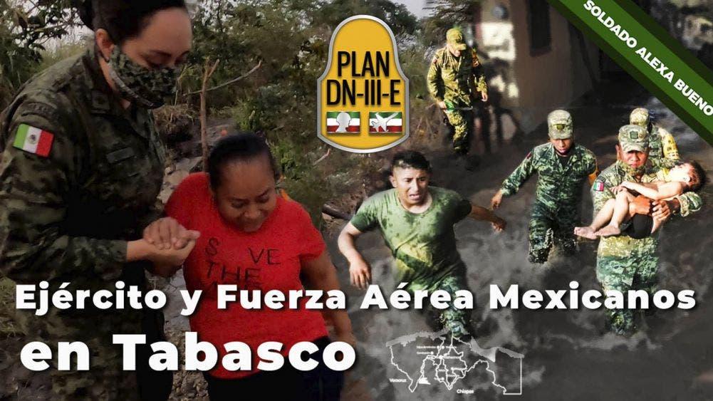 ¡Gran historia! Salvan soldados a menor de morir ahogado en Tabasco
