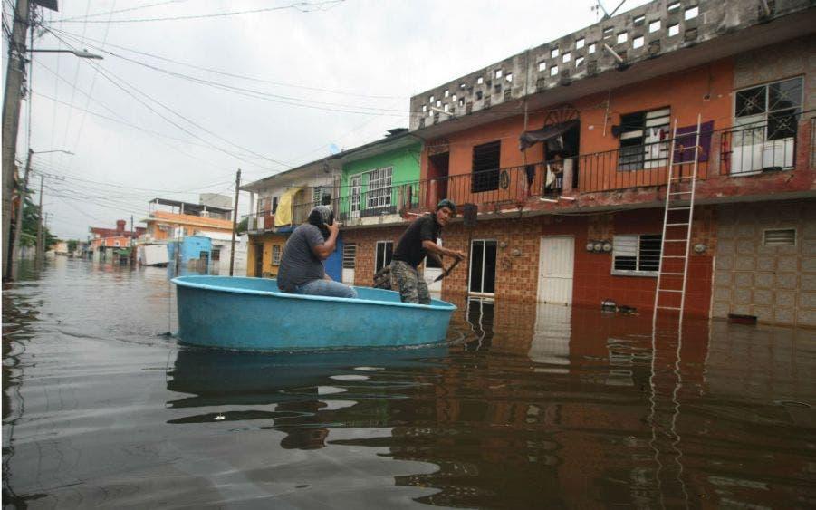 Lluvias por Frente Frío 9 afectan a ocho municipios de Tabasco