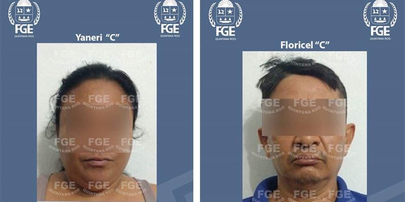 En Cancún detienen a pareja implicada en abuso sexual a menor.