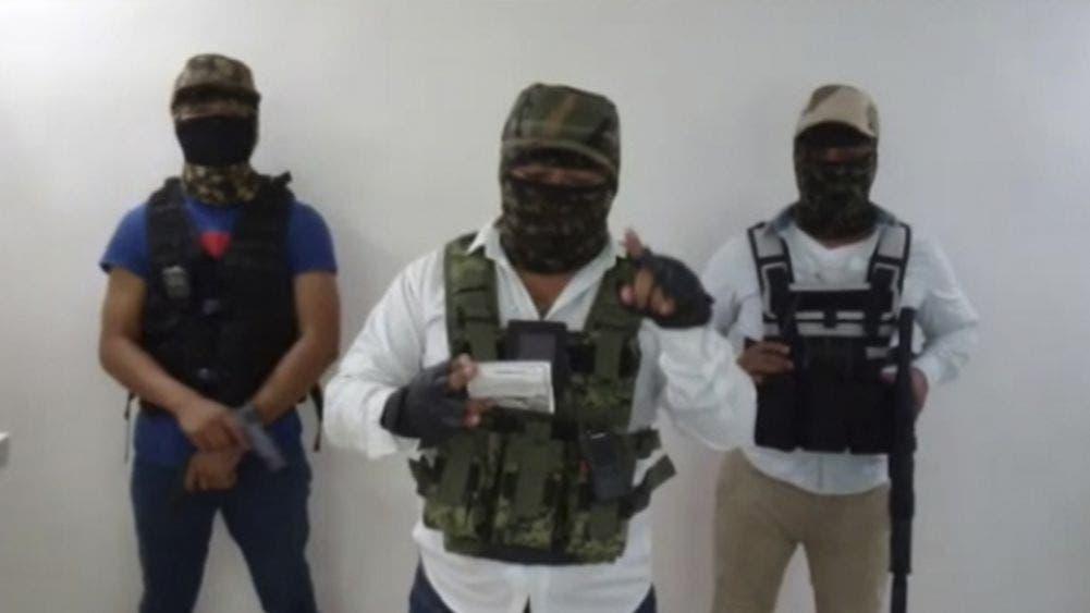 Surge nuevo video de extorsionadores encapuchados en Cancún