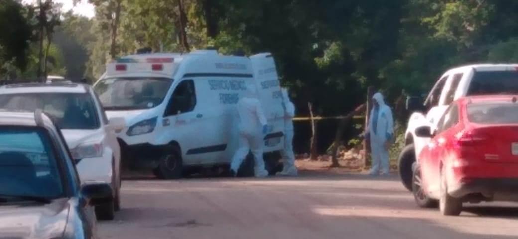 Hallan cuerpo descuartizado cerca de zona irregular en Tulum.