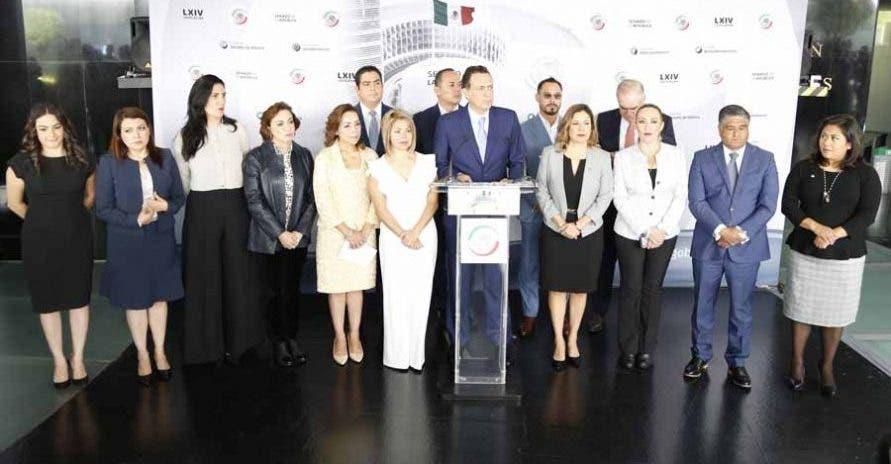 Reprueban senadores del PAN represión policiaca en Cancún.