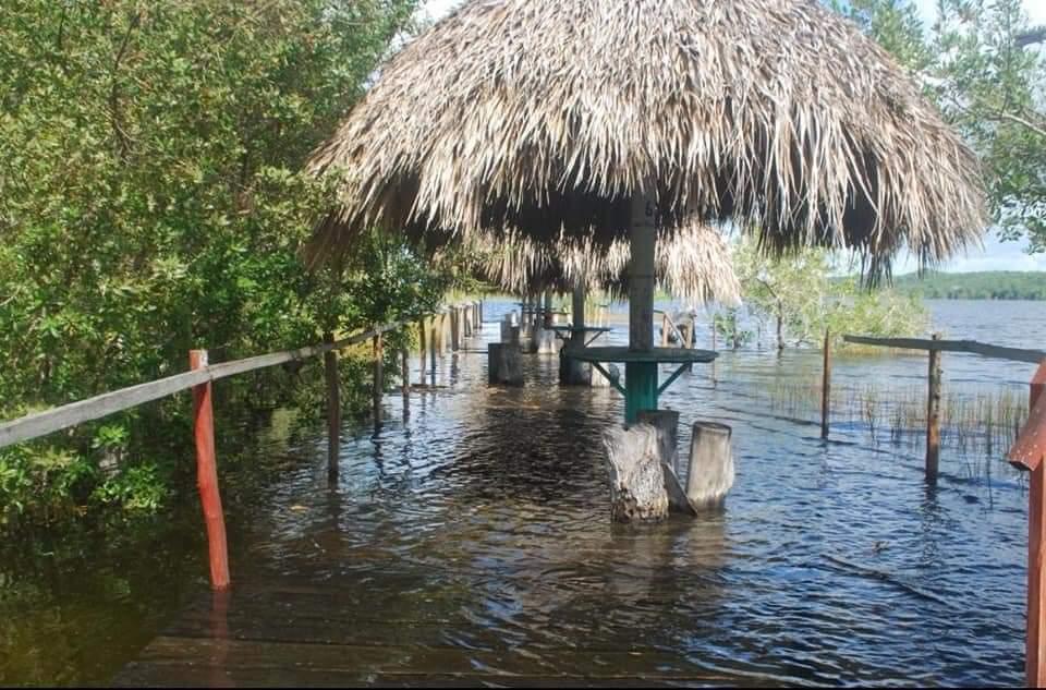 Incrementa nivel de agua en laguna Chichankanaab en JMM.