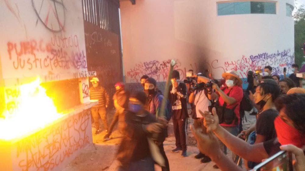 Mesa Chica: Desestabilizadores querían un muerto, y generar la ingobernabilidad y el caos en Cancún y Q. Roo.