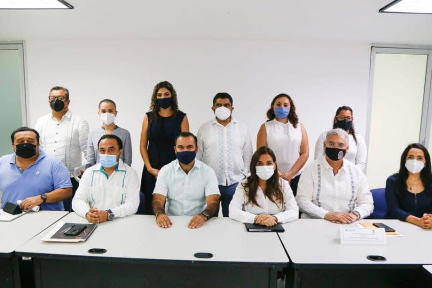 Trabajan en Cancún por el respeto a los Derechos Humanos.