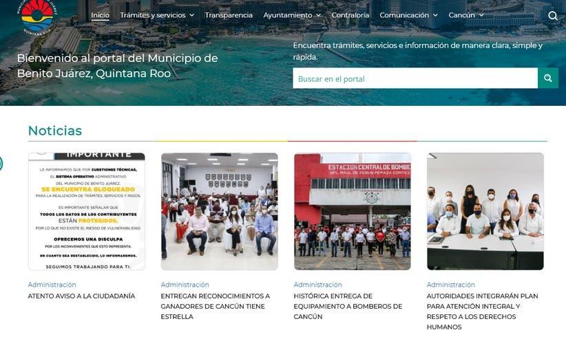 Hackean el sistema operativo del Ayuntamiento de Benito Juárez.