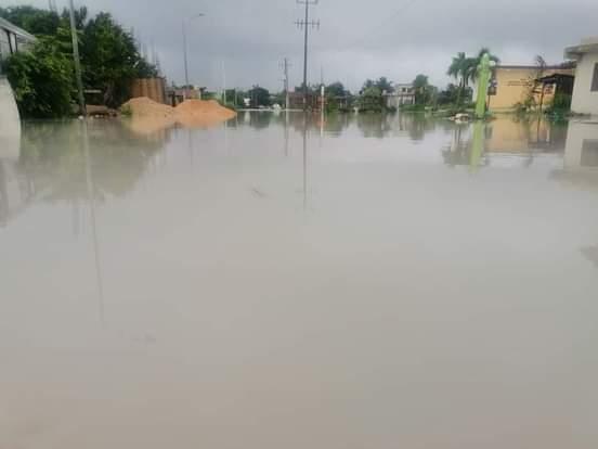 Registra Othón P. Blanco la mayor cantidad lluvias en las últimas horas.