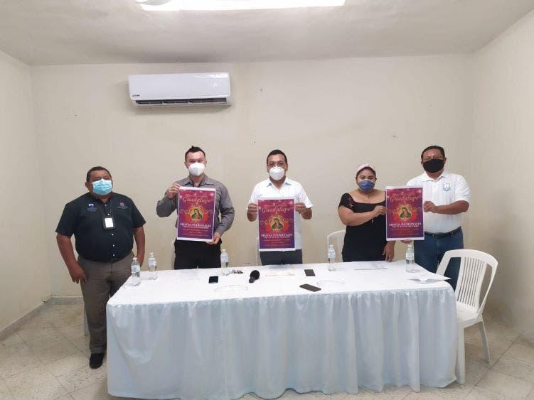 Suspenden la tradicional carrera antorchista en Cozumel; párroco llama a sus feligreses a no hacer novenas masivas en honor a la virgen.
