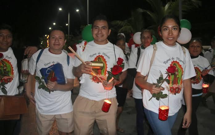 Suspenden la tradicional carrera antorchista guadalupana en Cozumel.
