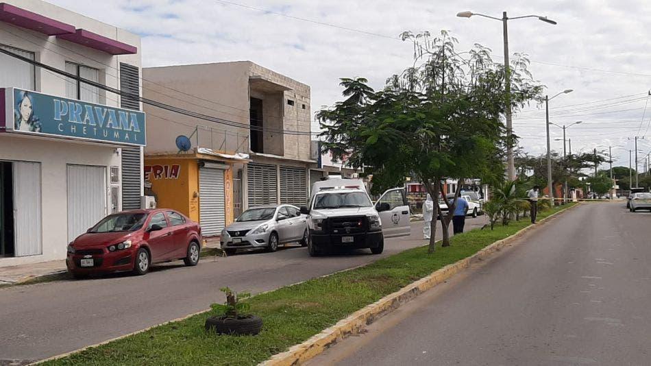 Ejecutan a ex policía estatal en Chetumal.