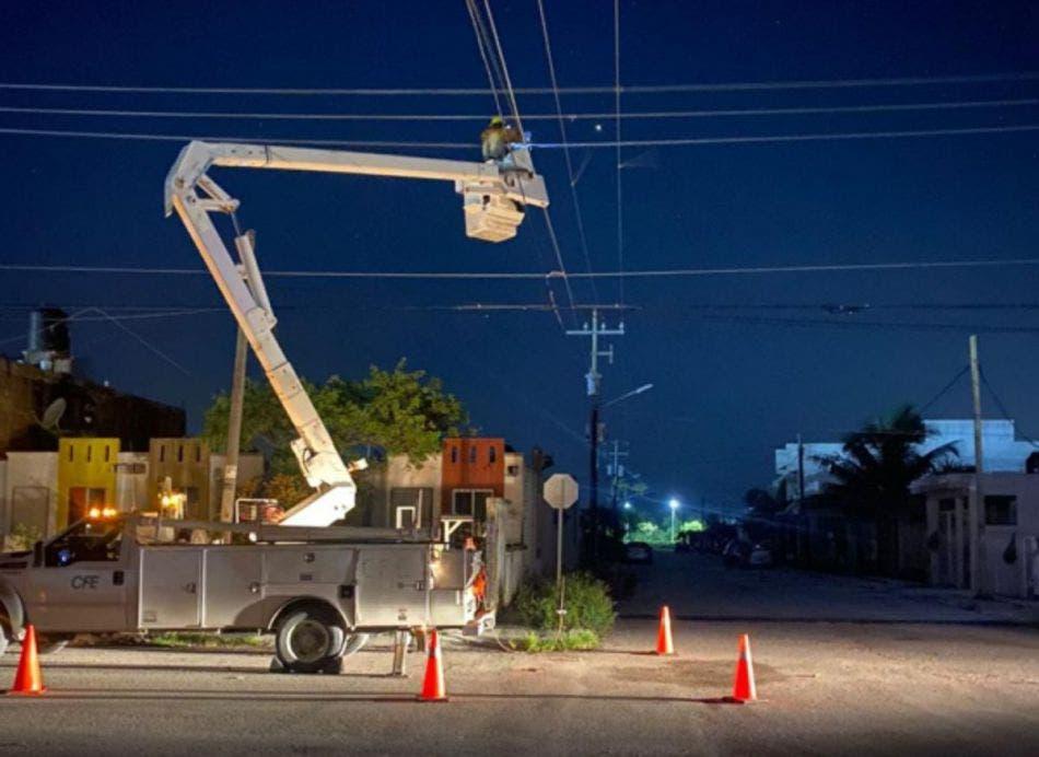 Realiza CFE balance de afectaciones por la temporada de huracanes.