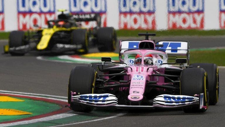 Racing Point deja fuera del podio a Checo Pérez