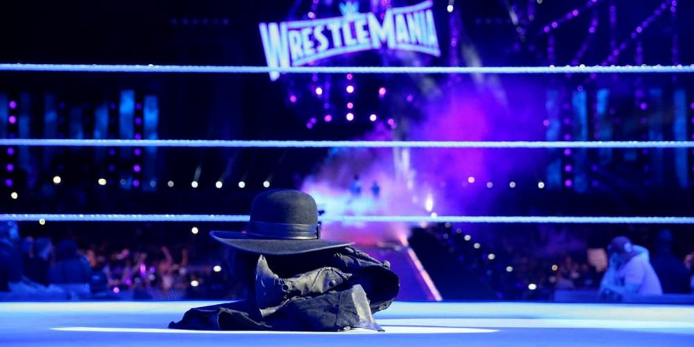 """Descansa en paz"", Undertaker..."